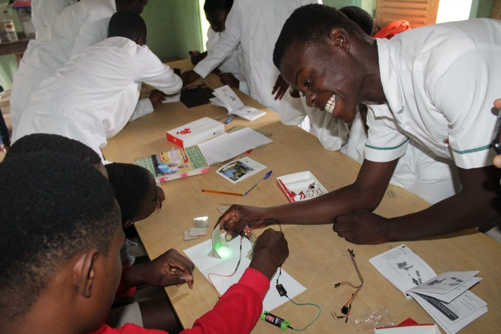 Charles Ofori Antipem – Putting Science Lab on the desk of every student in Africa