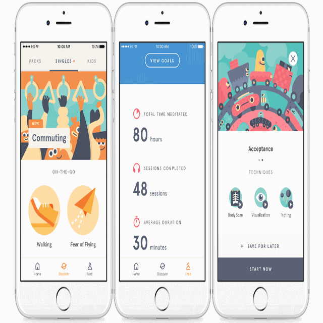 Health Apps headspace app