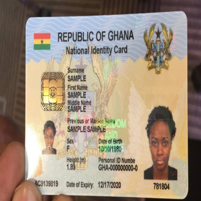 ict Ghana card
