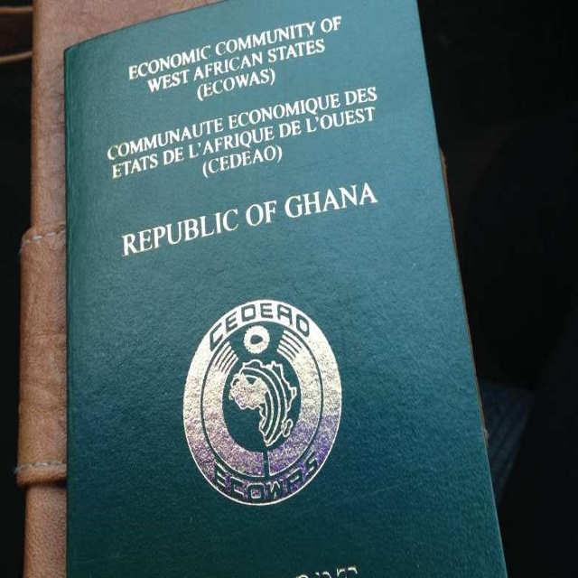 Passport process ict in ghana