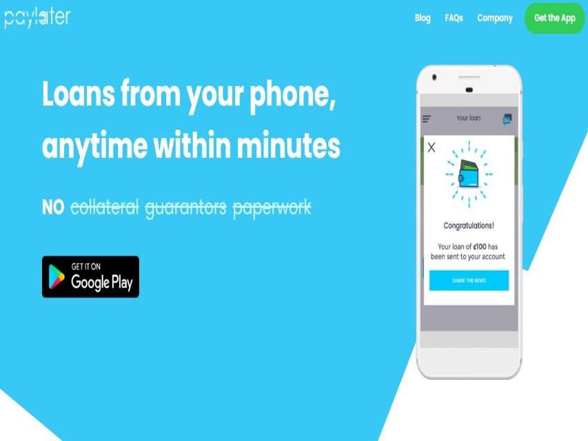 paylater loan app