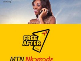 mtn nkomode mtn free after one